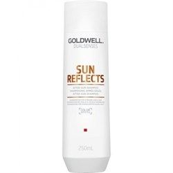 "Шампунь ""Goldwell Dualsenses Sun Reflects After Sun Shampoo"" 250мл после солнца - фото 40132"
