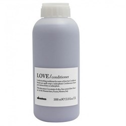 "Кондиционер ""Davines Essential Haircare LOVE Lovely smoothing conditioner"" 1000мл разглаживающий завиток - фото 40136"