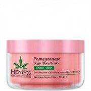 "Скраб ""Hempz Sugar & Pomegranate Body Scrub сахар и гранат"" 176гр для тела"